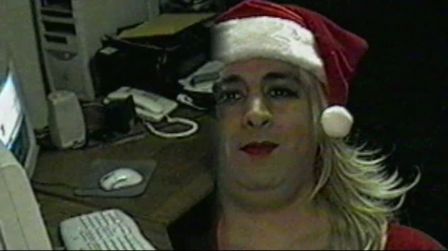 My Christmas Video Outtakes - Transvestite Video