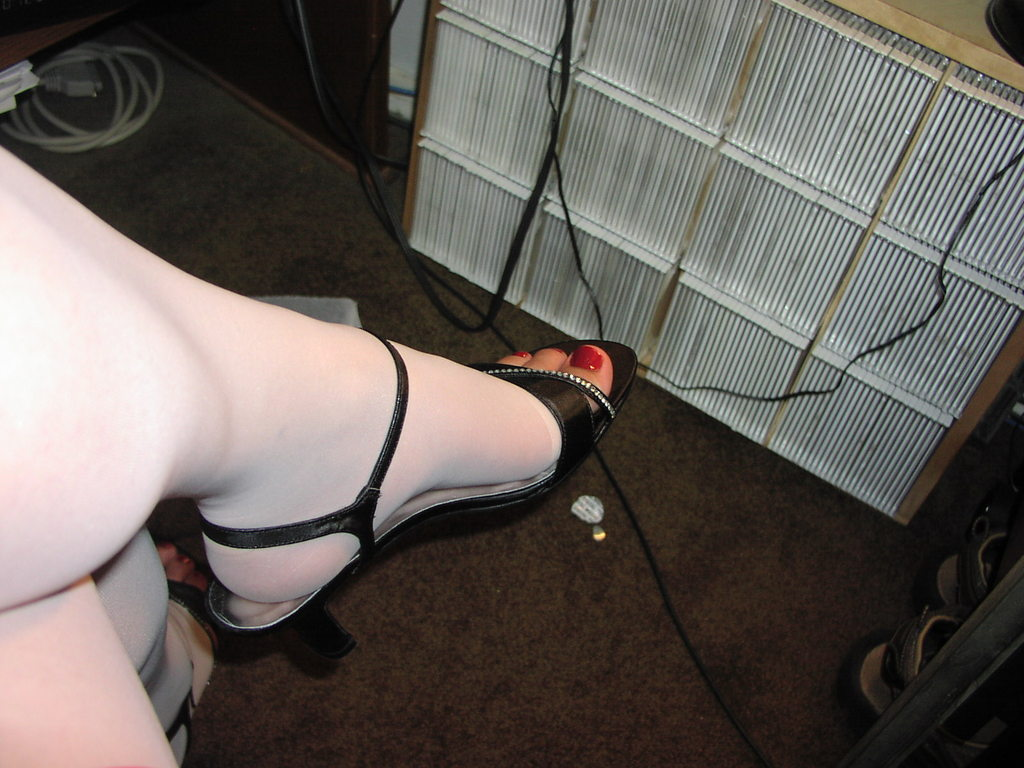 Lovely heels as I rest