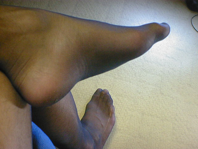 My Stockinged Feet