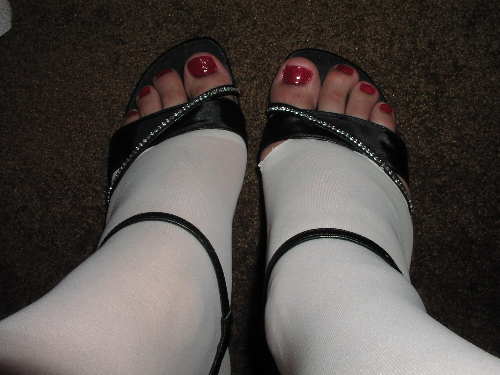 Pretty toes for sucking