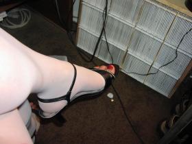 Lovely heels as I rest